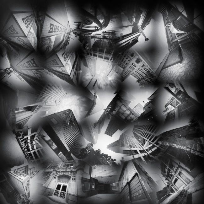 Downtown Minneapolis 25 - pinhole camera photograph