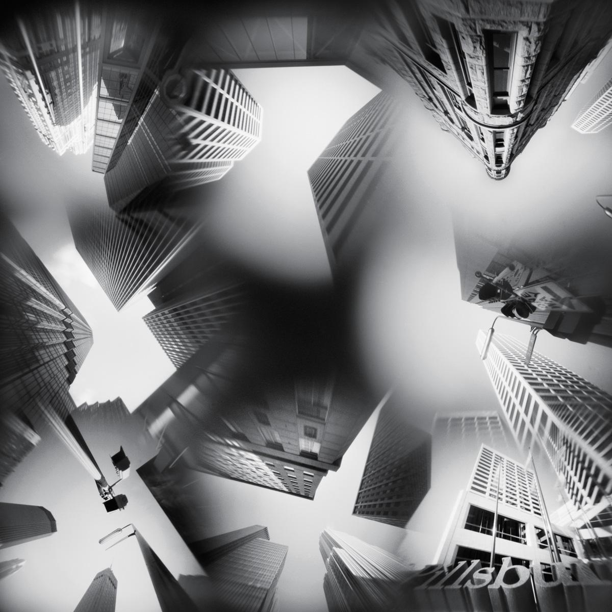 Downtown Minneapolis 9 - pinhole camera photograph