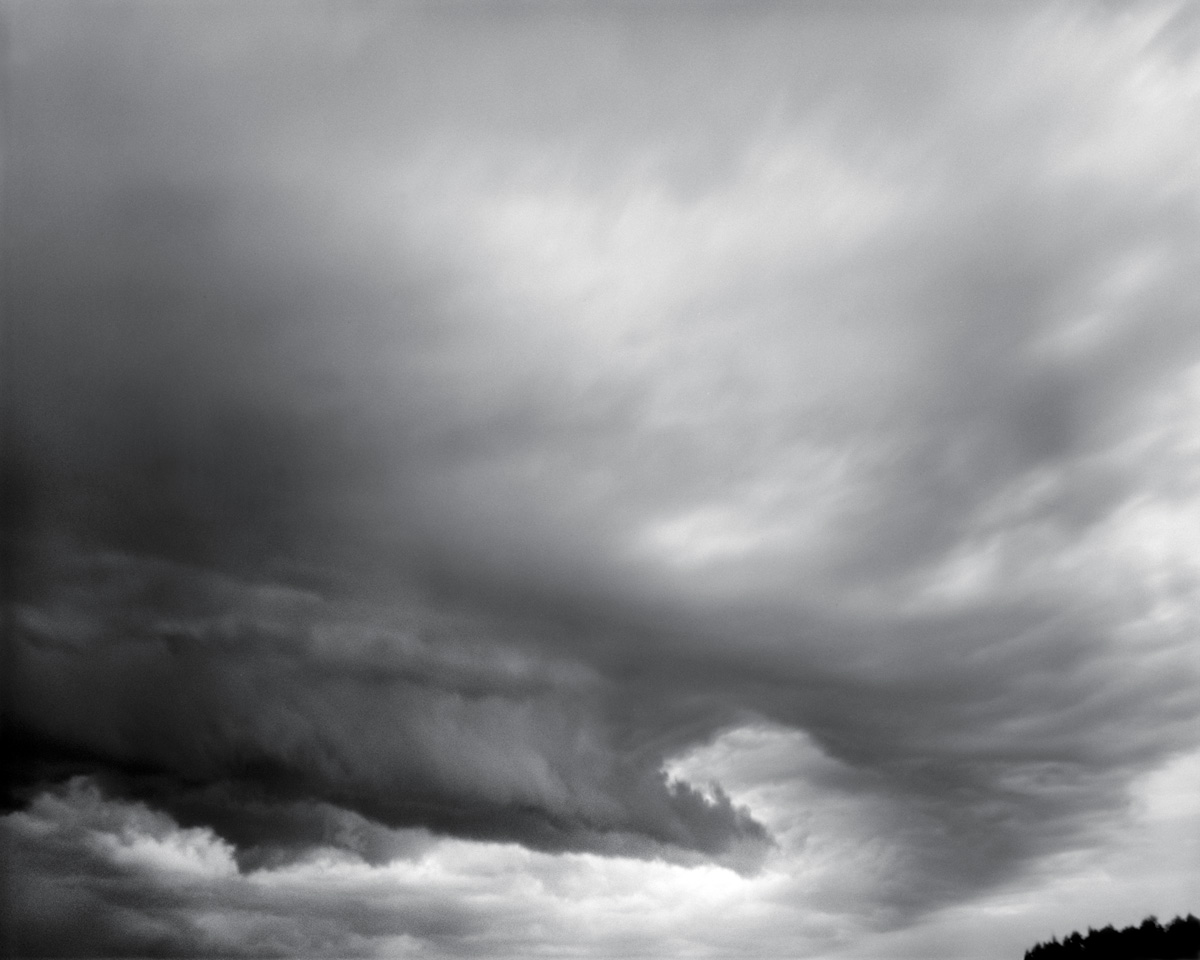 Squall - pinhole camera photograph