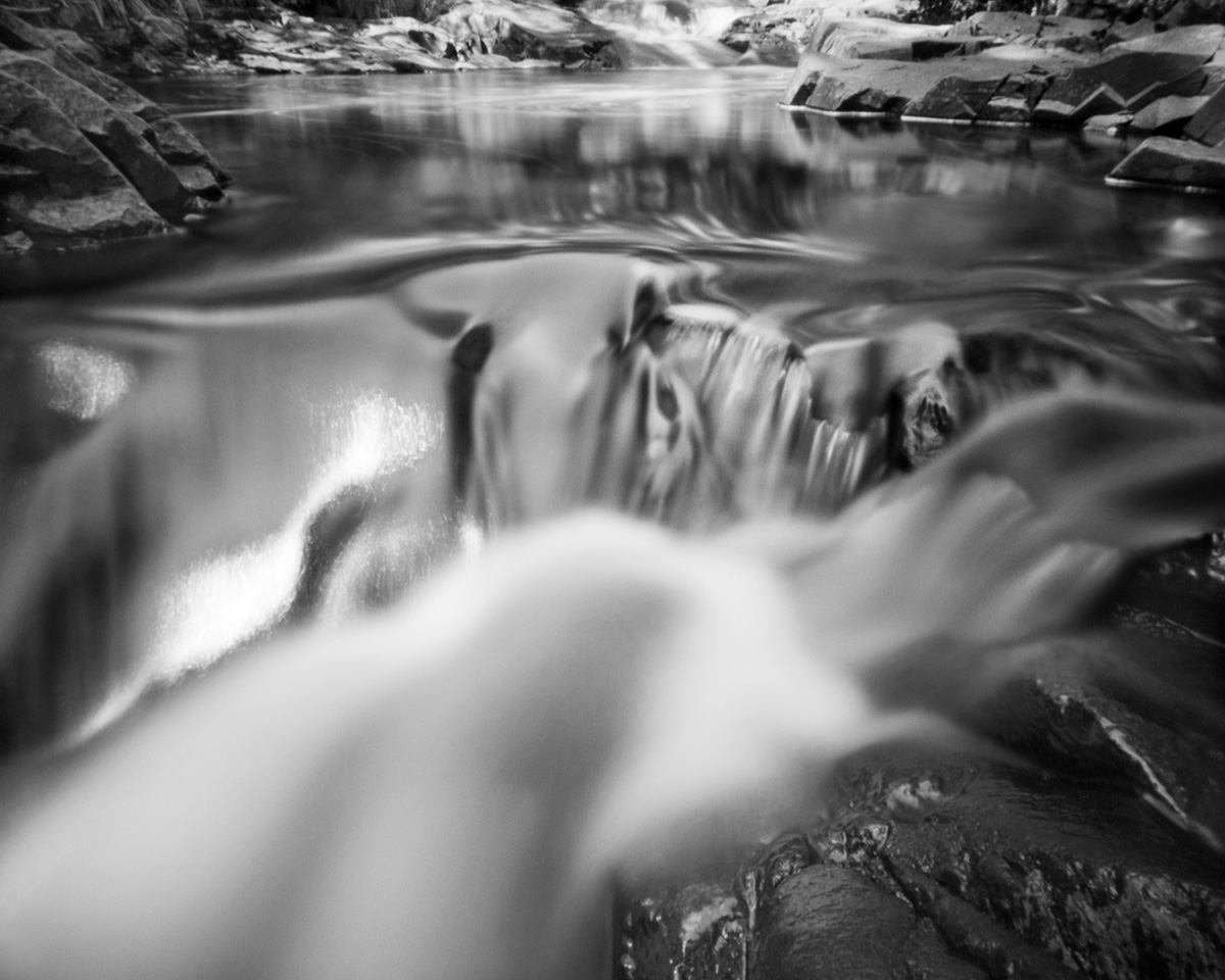 Baptism River - pinhole camera photograph